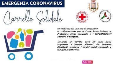 EMERGENZA COVID-19 INIZIATIVA CARRELLO SOLIDALE